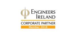 Engineers Ireland Corporate Partner 2018 logo